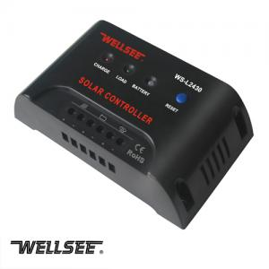 WELLSEE solar light controller WS-L2430 20A 12/24V