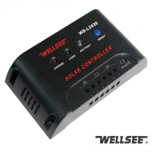 WELLSEE solar light controller WS-L2430 30A 12/24V