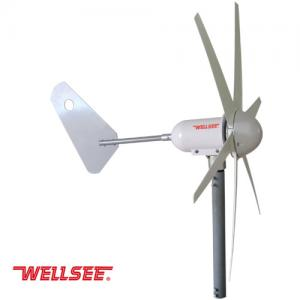 WELLSEE Wind Turbine (6 Blades horizontal axis wind turbine)WS-WT400W