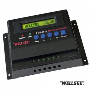 WELLSEE charge controller WS-C2430 30A 12V/24V