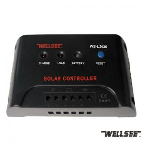 WELLSEE solar light controller WS-L2430 25A 12/24V