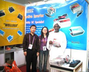 Bluelight foreign trade elite with Sudanese client