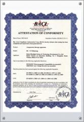 BL-G CE Attestation of Conformity in EU